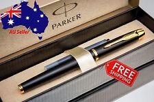 PARKER IM Premium Quality Matte Black Fountain Pen - Box+Extra Refill