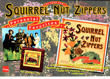 SQUIRREL NUT ZIPPERS PERENNIAL FAVORITES DEALERS COUNTER DISPLAY-NOS-MINT SETZER