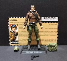 G.I. Joe 25th General Hawk V3 Figure Complete