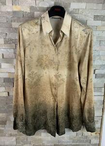 Basler Ladies Size 14 Vintage Floral Blouse Shirt Top