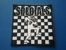 TWO TONE MADSTOCK SKA MUSIC SEW / IRON ON PATCH:- SPECIALS (a) RUDE BOY DANCER
