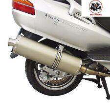 Malossi Suzuki Burgman 650 Full Exhaust Pipe System Stainless&Aluminium Muffler