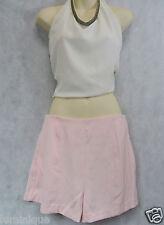 BNWT Baby Pink Shorts M 12 Dress Skirt Party Club Designer *MUSTARD SEED* Light