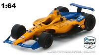 GREENLIGHT 10845 2019 #66 FERNANDO ALONSO DELL TECHNOLOGIES INDYCAR DIECAST 1:64