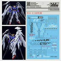 WaterSlide Decal Stickers for Bandai HIRM 1/100 XXXG-00W0 Wing Gundam Zero Model