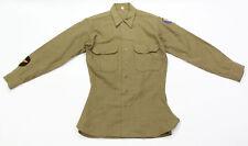 """Chemise troupe USAAF """"15'-33"""" US ARMY WW2 (matériel original)"""