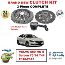 FOR VOLVO S60 Mk II Saloon T3 T4 T4F 2010-2015 BRAND NEW 3PC CLUTCH KIT with CSC