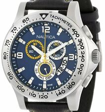 DISPLAY ITEM $195 Nautica Men's NST 600 Chrono Carving Color Watch N19608G