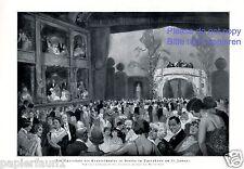 Opernball Staatstheater Opernhaus Berlin XL Druck 1925 Frost * Breslau † Kampen