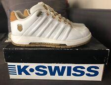 K-swiss Men's Shoe White/Tan 8-US