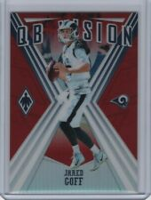 2019 Panini Phoenix Jared Goff QB Vision Red Parallel #19 87/299