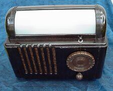 Vintage Bakelite DecoTube RADIO and BED LAMP 1950s