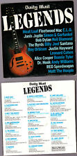Promo CD, Legends, Janis Joplin, Byrds, Santana, Leonard Cohen, Dylan, E.L.O