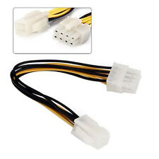 ATX 4 Pin Male to 8 Pin Female EPS Power Cable Cord Adapter CPU Power Supply