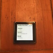 Apple MC688LL iPod Nano 6th Generation - Graphite - (8 GB) MP3 Player 600 Songs