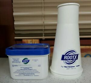 Rootx The Root Intrusion Solution 2 Pound Container Funnel Foam Root Killer