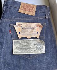 vintage Levis 501 deadstock 1986 STF made in USA