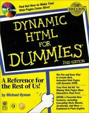 Dynamic Html for Dummies by Michael I. Hyman (1999, Pb+Cd)