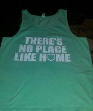 *Neon Tees Tank Top Shirt Green Men's Medium