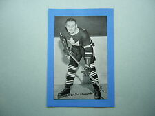 1934/43 BEEHIVE CORN SYRUP GROUP 1 HOCKEY PHOTO WALTER STANOWSKY BEE HIVE SHARP