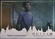 Gotham Season 2 Penguin Parallel Base Card #05 ?Alfred, I need to know.?