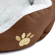 Small Luxury Soft Cushioned Fleecy Warm Indoor Pet Bed - By DIGIFLEX