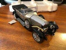 Franklin Mint 1/24 Scale 1925 Rolls-Royce Silver Ghost - Boxed