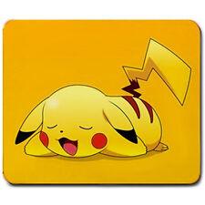 Cute PIKACHU Sleeping Large Mousepad mouse pad mat * Great Gift gaming nintendo