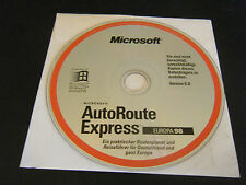 Microsoft AutoRoute Express Europa 98 - Version 6.0 (PC, 1997) - Disc Only!!!!