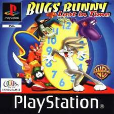 BUGS BUNNY LOST IN TIME PS1 PLAYSTATION 1 DISC ONLY