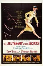 THE LIEUTENANT WORE SKIRTS Movie POSTER 27x40 Tom Ewell Sheree North Rita Moreno