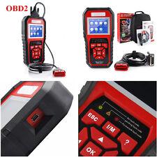 Car Auto OBD2 OBD II Diagnostic Scanner Tool Read Trouble Codes  LED Indicators