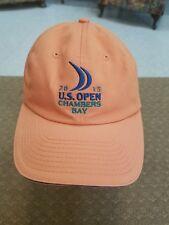 US Open 2015 Chamber Bay USGA Member Golf Baseball Cap Hat Adjustable orange