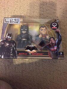 batman vs superman metals diecast two pack jada dc comics mint m9 henry cavill