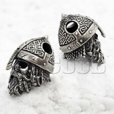 CooB Paracord Bead Beads Charm Zombie Viking Skull for Bracelet Lanyard KeyChain