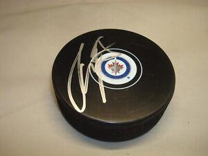 Tyler Myers Signed Winnipeg Jets Hockey Puck Autographed 1C