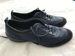 """Hotter Dark Blue """"Prism"""" Lace Up Shoes Size 7"""