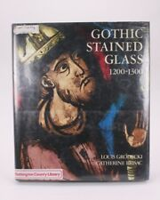 Gothic Stained Glass 1200-1300 Grodecki Brisac USA 1984 HC Book 0801418097