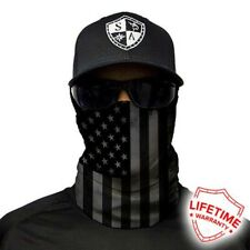 Sa Blackout American Flag Face Shield. Buy 2 get 1 Free! Must add 3 to cart!