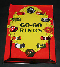 Vintage GO-GO RINGS Gumball Machine Insert Card