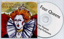 DARREN HAYMAN & LONG PARLIAMENT Four Queens UK promo test CD + PR