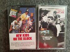 New Kids on the Block Cassette Lot Of 2 Hangin Tough NKOTB