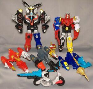 Power Rangers Gosei Goseiger DX Grand Mega Force Megazord Lot Extra Heads