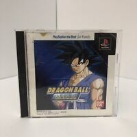 Dragon Ball Final Bout - Japan Import PS1 PSX Playstation 1 2 3 Japanese Z GT