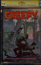 CREEPY 7 CGC 9.4 SS FRANK FRAZETTA DRACULA WOLFMAN CLASSIC COVER SUPER RARE 1966