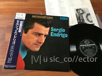 D74 SERGIO ENDRIGO Best star best album Japan LP Obi Vinile come nuovo! raro!