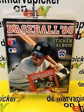 Panini Baseball '88 Sticker Album Sealed In Plastic w Pack