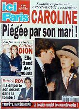 Mag 2000: CAROLINE DE MONACO_ALAIN CHAMFORT_ISABELLE ADJANI_PATRICK ROY_DANI