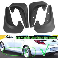4pcs Car Front Rear Fender Mudguards Splash Guard Mudflaps EVA Plastic Universal