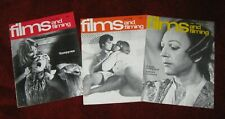 3 Films and Filming Magazines Apr May Jun 1976 Donald Sutherland Vampyres